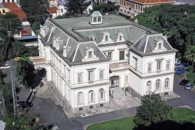 Palácio dos Campos Elíseos.