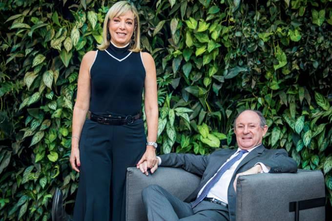 Anette e Marcel Rivkind