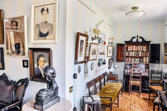 Museu literário Casa Guilherme de Almeida, em Perdizes.