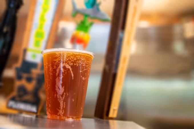 Cerveja no SeaWorld