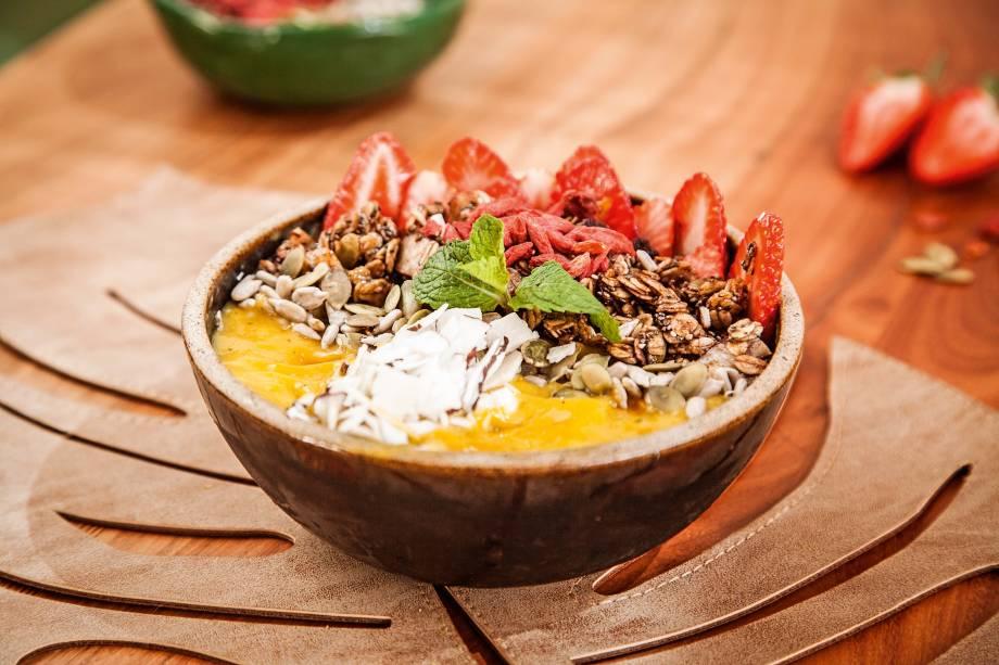 O bowl tropi do Botanikafé