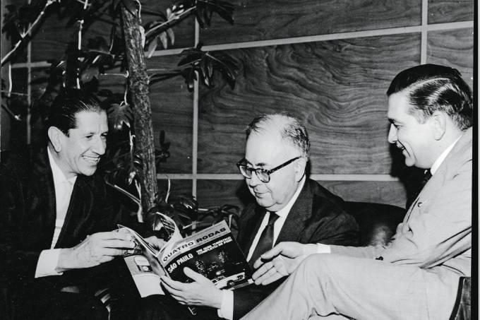 Victor Civita e Prestes Maia