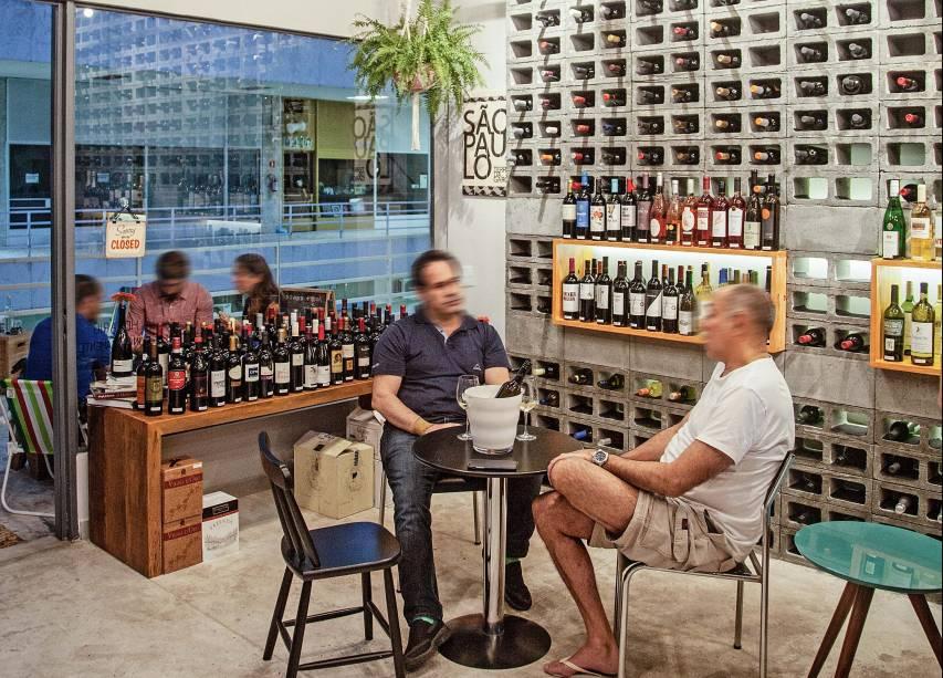 Espaço do Prosa e Vinho: wine bars são tendência paulistana