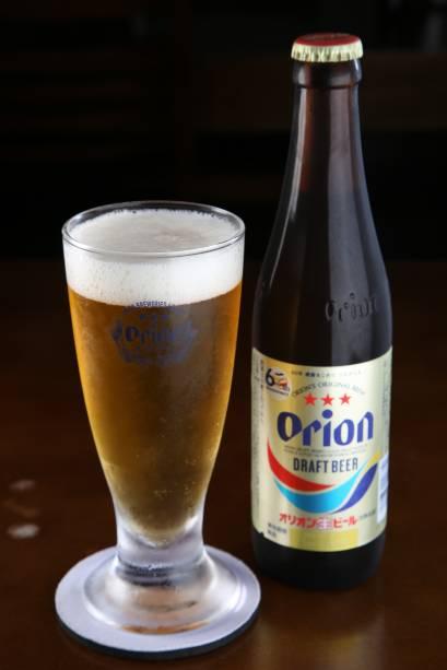 Cerveja de trigo Orion do Kyokuto