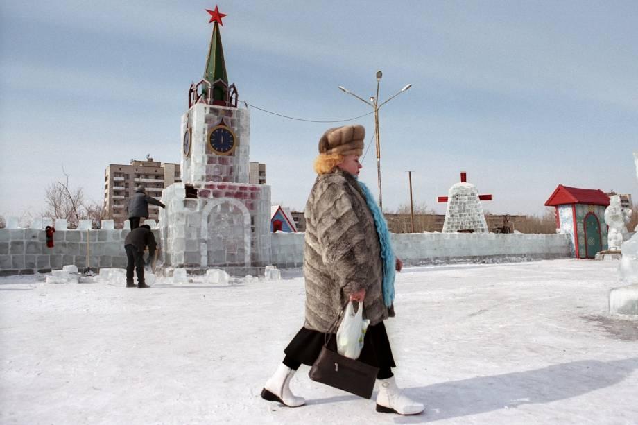 Uma das fotos de Serguei Maksimishin