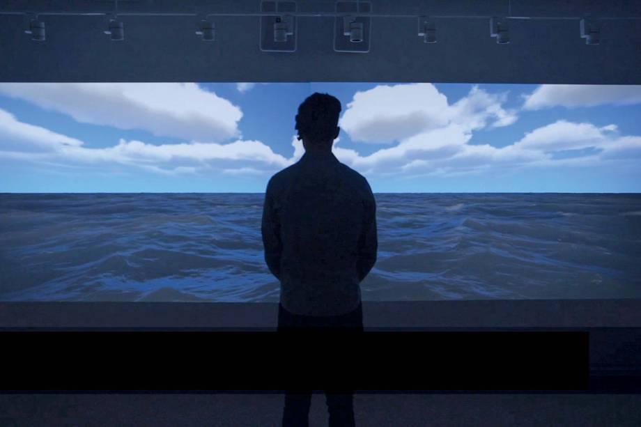 You Are The ocean, uma das instalações que integra a File em 2018.