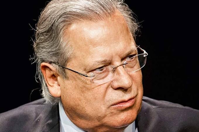 José Dirceu, ex-deputado federal e ex-ministro, durante entrevista exclusiva para Folha e Uol, nos estúdios do Uol..jpg