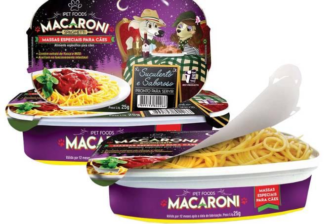 macaroni macarrão cachorro
