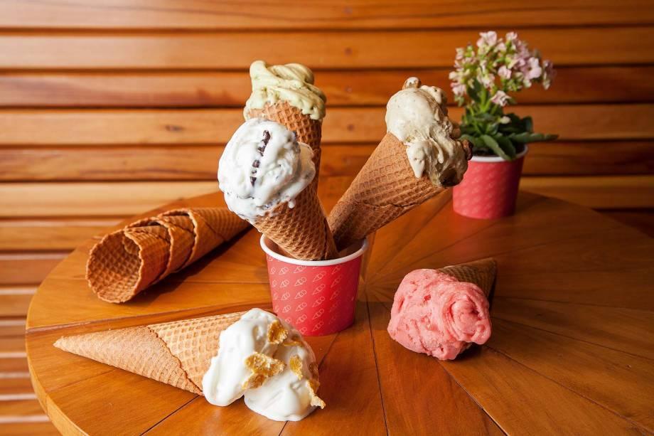 Pine Co, em Pinheiros: sorveteria oferece sabores inventivos