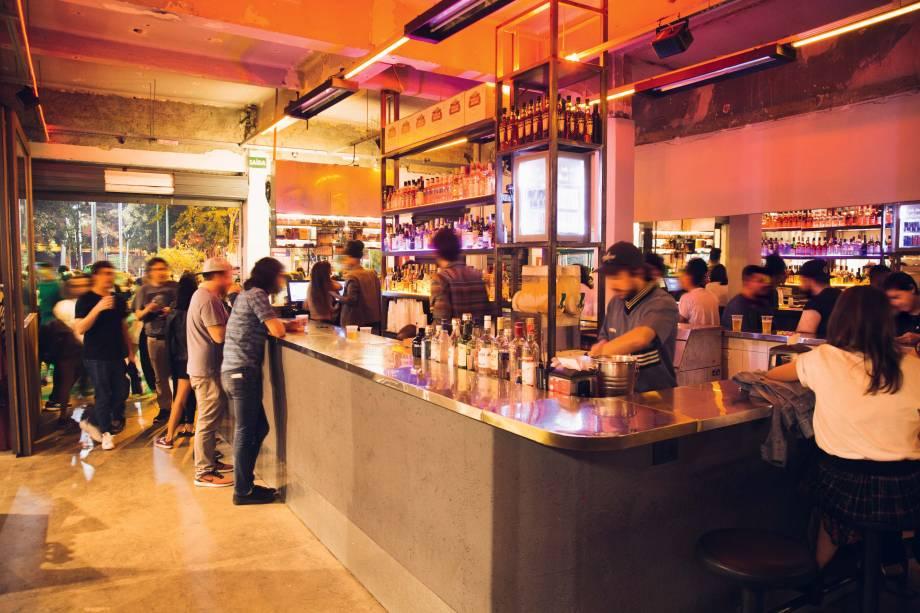 Void: o misto de bar e loja na região do Largo da Batata foi eleito o melhor lugar para paquerar por Veja COMER & BEBER 2018