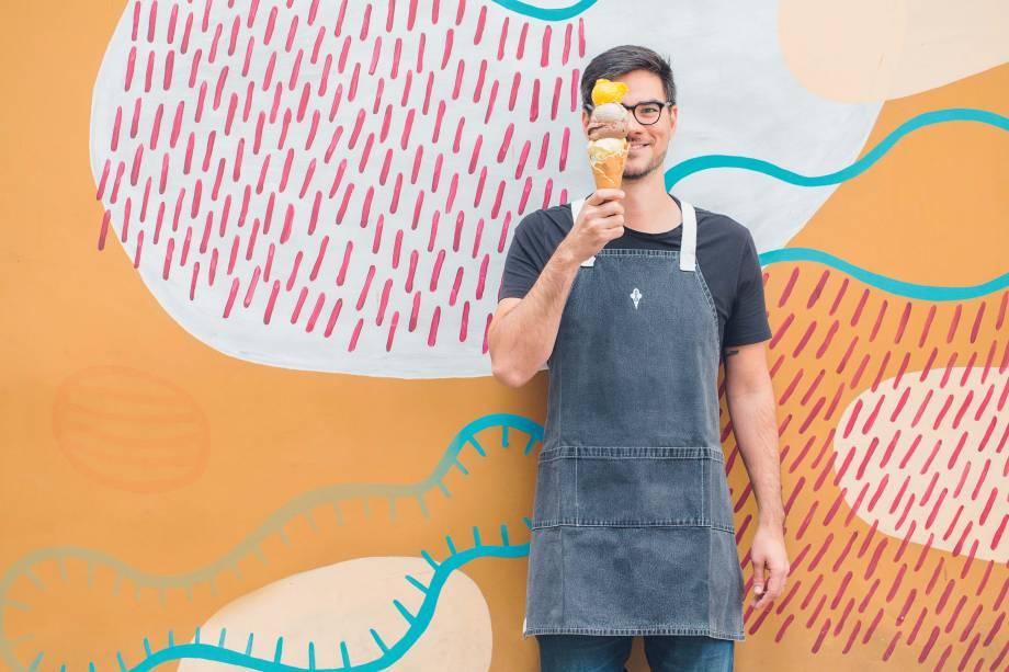 Prêmio em dobro: Thomas Zander levou o prêmio de sorveteiro do ano pelo guia COMER & BEBER 2018