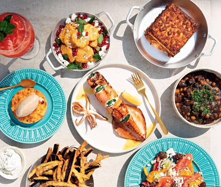 O grego Kouzina: eleito o melhor restaurante bom e barato da cidade