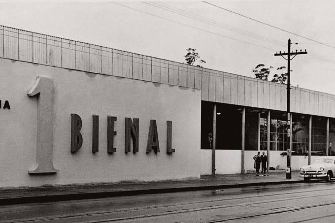 Pavilhão da Bienal Internacional de São Paulo.
