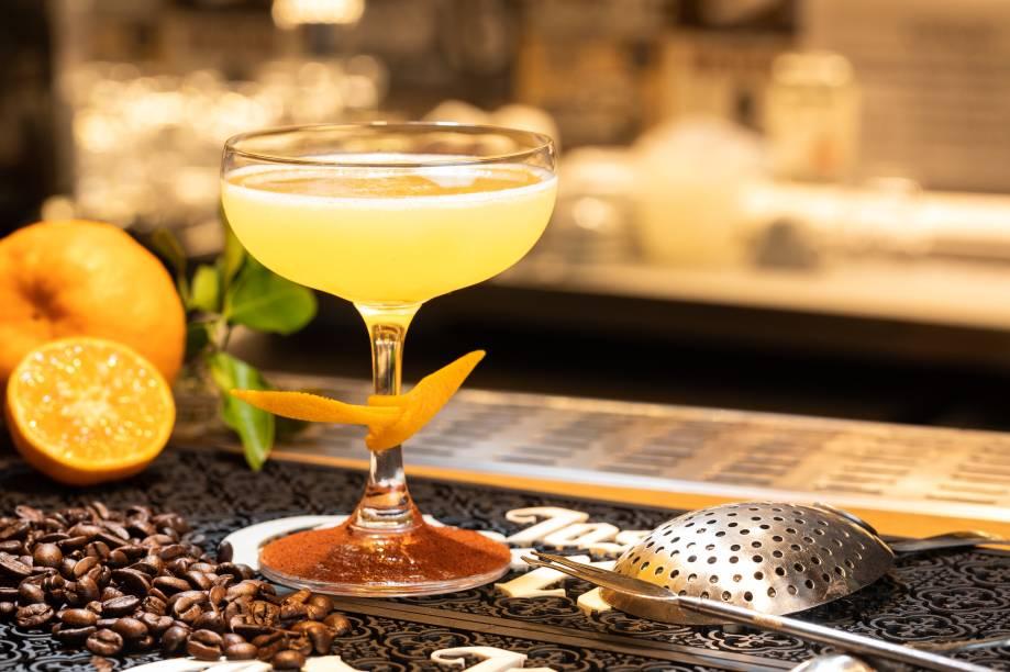 Sylvester daiquiri: a interpretação da casa leva um toque de café