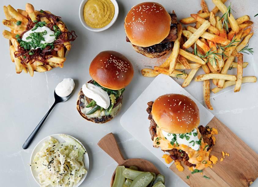 Bicampeão nos melhores hambúrgueres da cidade: ingredientes como chilli, tutano e jalapeño