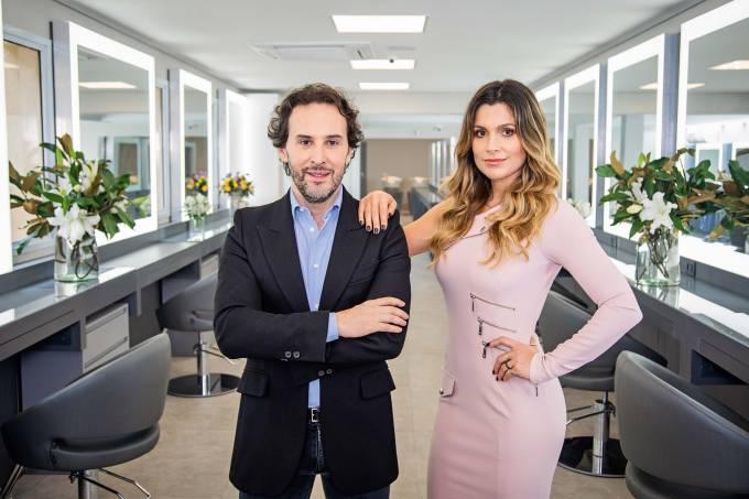 Marcos Proença e Flávia Alessandra: