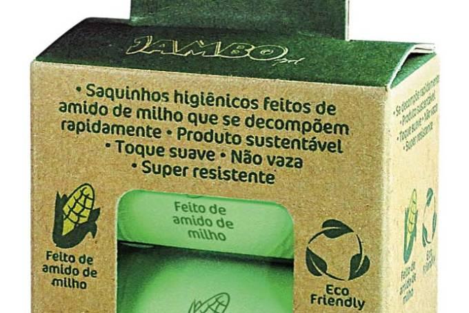 Jambo saquinho biodegradáveis