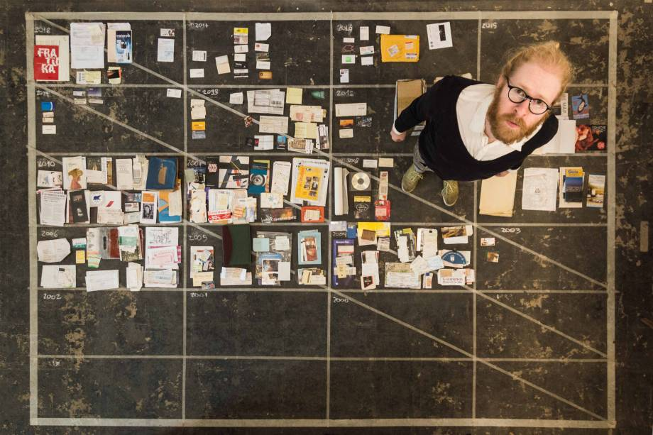 Daniel Jablonski: mais de 3 000 itens em instalação