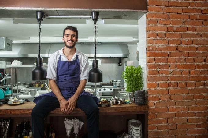 Chico Farah, chef do Teus, em Pinheiros.
