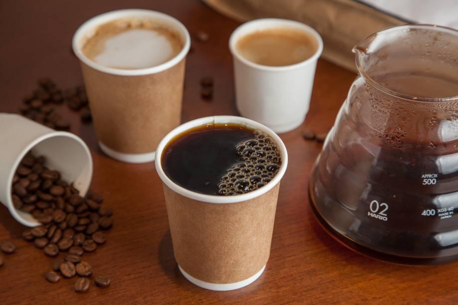 Coados: opções de cafés da marca Orfeu