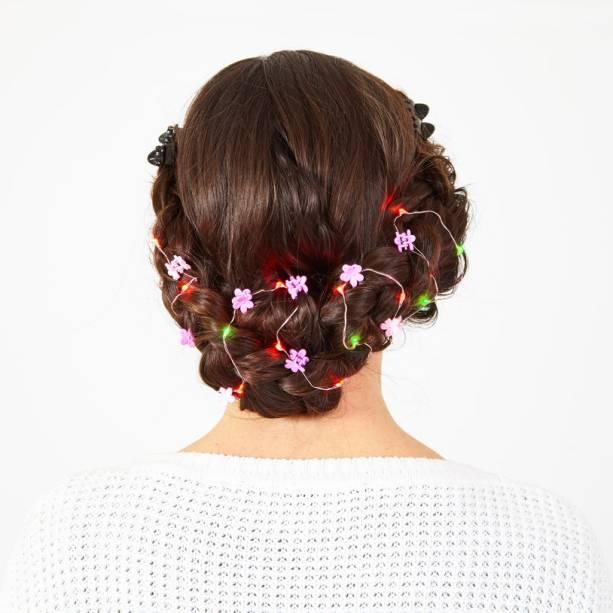 Para os cabelos longos os internautas podem comprar as Hair Lights