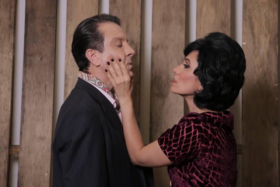 Eduardo Martini e Nicole Cordery