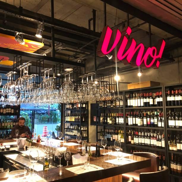 Vino!: faz companhia ao Frank Bar no Hotel Maksoud Plaza