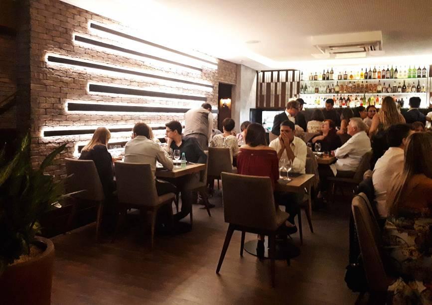 Ambiente: primeira filial paulista do restaurante curitibano, seis vezes premiado pelo VEJA COMER & BEBER local