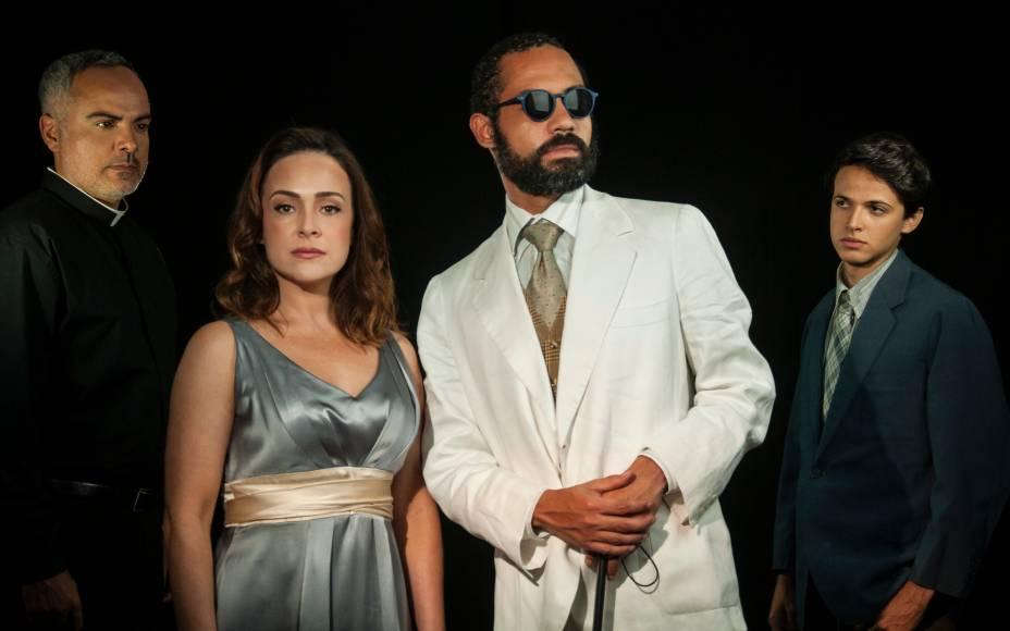 Saulo Rodrigues, Gabriela Duarte, Silvio Guindane e Eduardo Melo