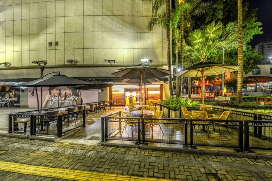 O espaço no Shopping West Plaza