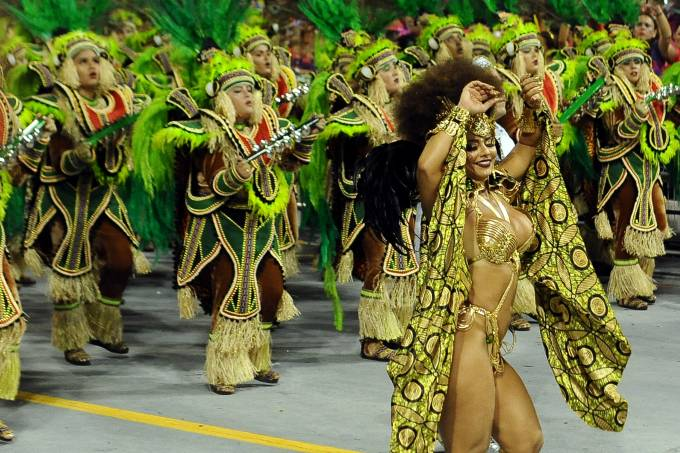 Desfiles das Escolas de Samba Grupo Especial de Saã Paulo
