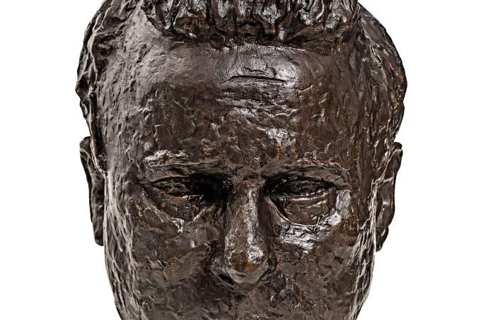 BRUNO GIORGI (1905-1993), Cabeça do artista Alfredo Volpi, 1942, fundição bronze 32,5 x 22,0 x 27,0 cm, Sergio Guerini_1.jpg