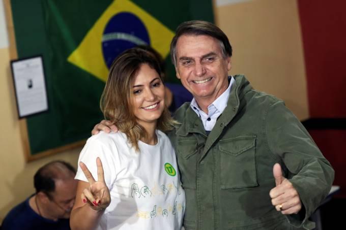 Jair e Michelle Bolsonaro
