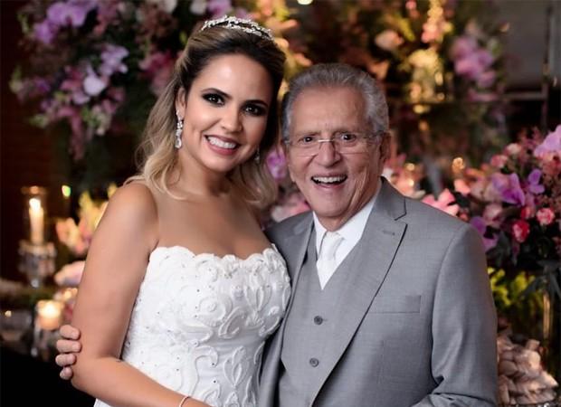 Renata Domingues e Carlos Alberto de Nóbrega