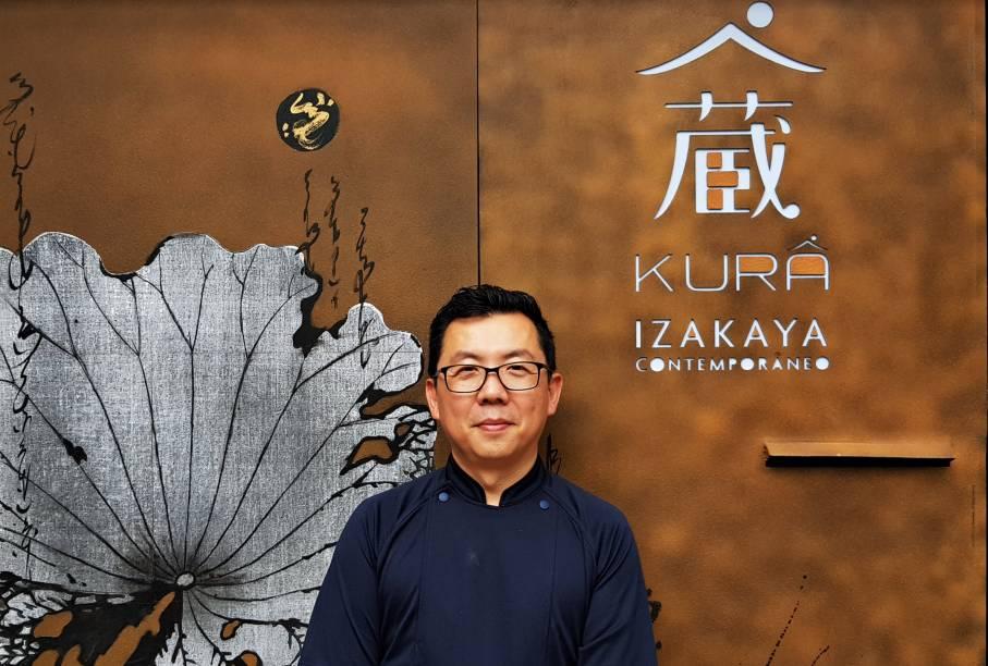 Chef Ken Tanaka: responsável pelas receitas do Kurâ