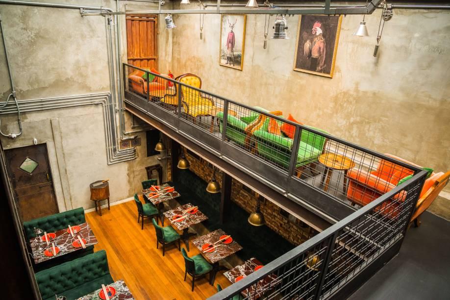 Giulietta Fogo & Vino: diferentes ambientes para pedidas italianas modernas