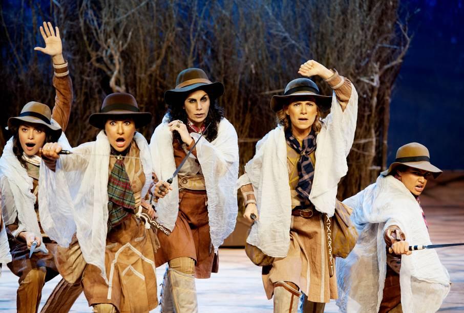 As Cangaceiras, Guerreiras do Sertão: musical de Newton Moreno