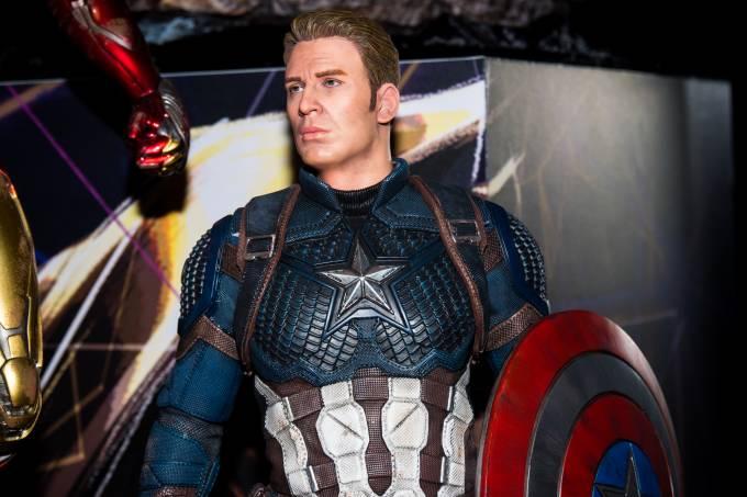 exposição avengers iron concept store
