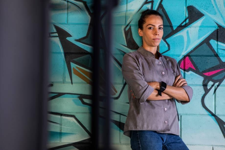 Chef Tássia Magalhães: à frente do riso.e.ria e do Fabbrica