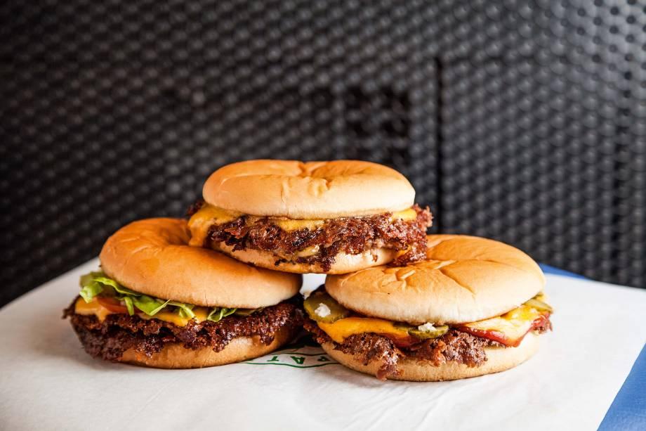 Hambúrgueres de 40 gramas de carne