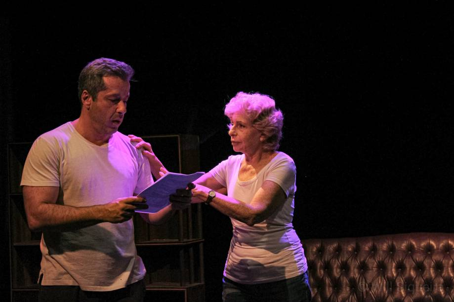 Quando Tudo Estiver Pronto: Otávio Martins e Lilian Blanc nos ensaios da peça