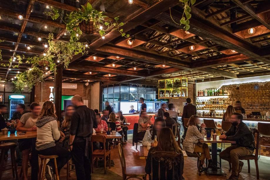 Espaço do novo bar em Pinheiros