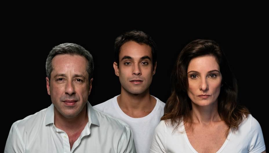 Quando Tudo Estiver Pronto: Otávio Martins, Filipe Ribeiro e Patricia Pichamone