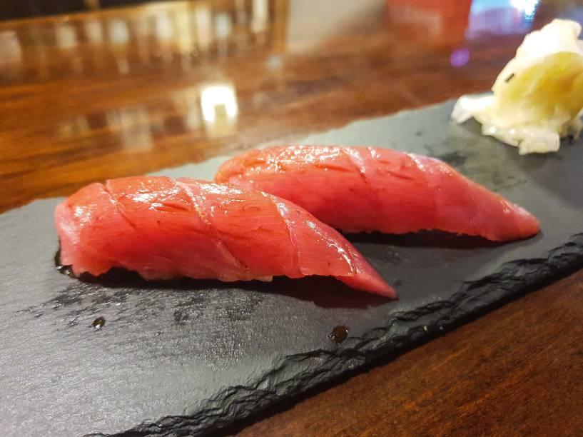 Os sushis de atum