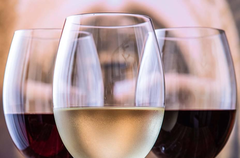 Opções de vinho