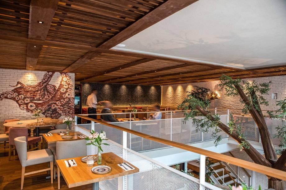 Salão: localizado no piso superior