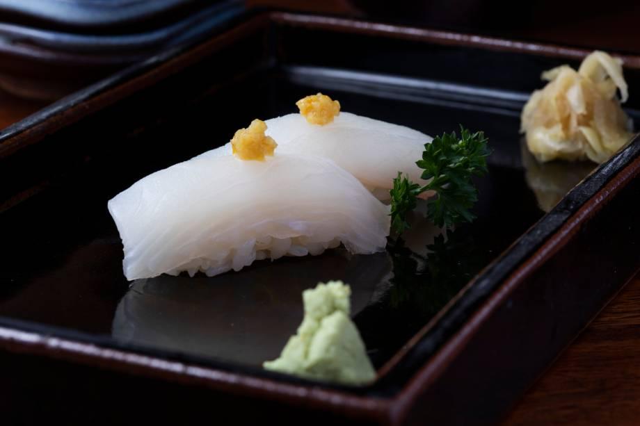 Sushi de linguado: sugestão do J1