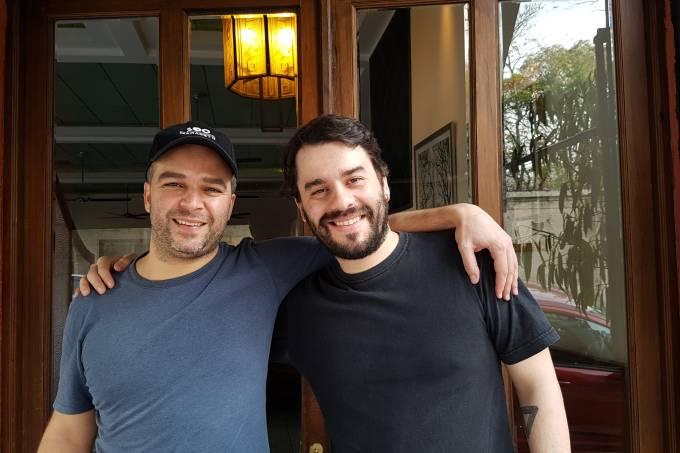 Chef Sem Frontera -Maurício Santi e Filipe Leite.