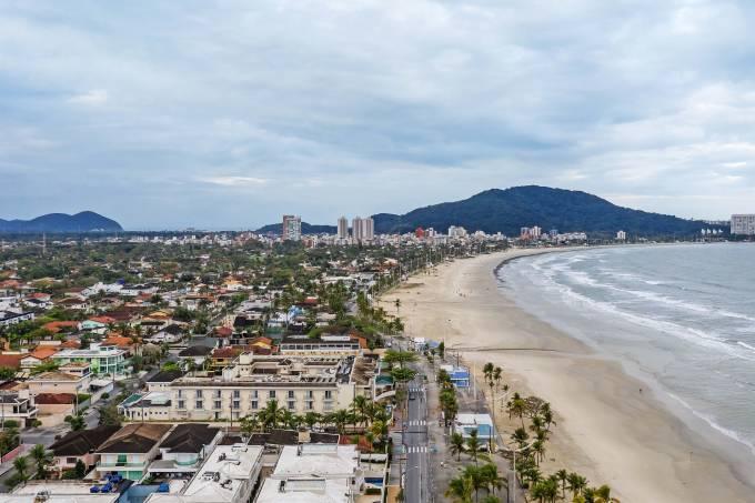 Praia de Pitangueiras, Santos