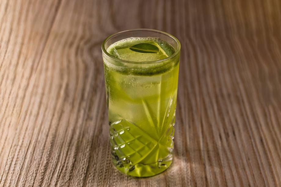 O drinque oli: para ser tomado no novo balcão